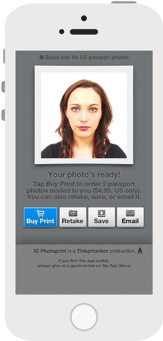 IC Photo App for Singapore